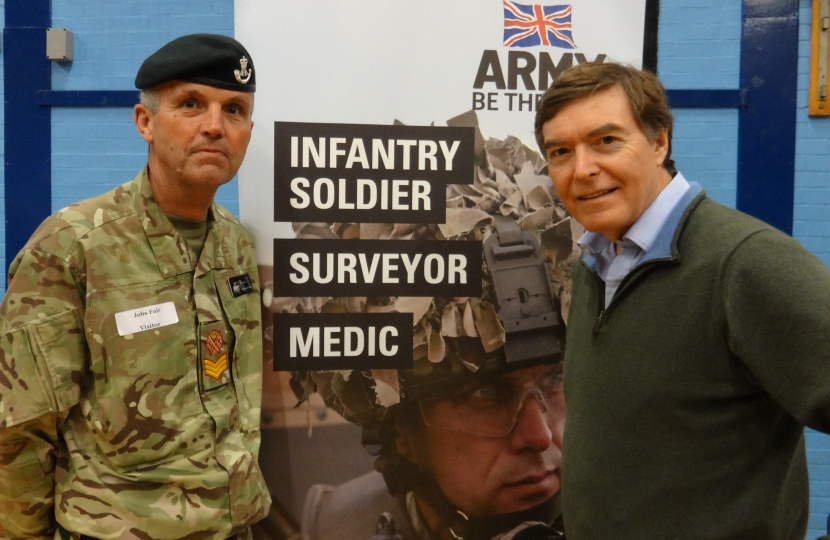 Philip Dunne Bridgnorth Jobs Fair