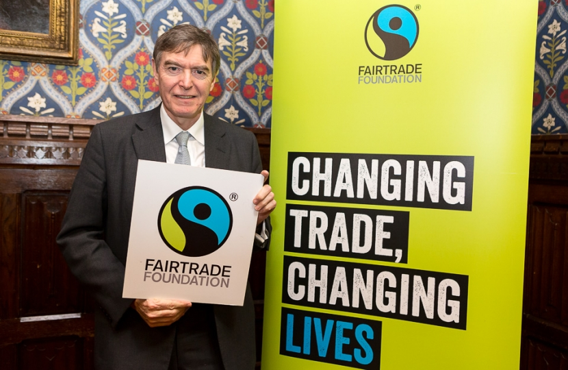 PD supporting Fair trade