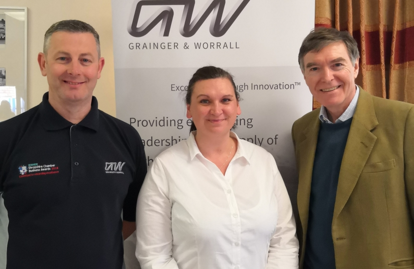 Philip Dunne with Paul Roberts of Grainger & Worrall, and Amy Farley of MCMT.jpg